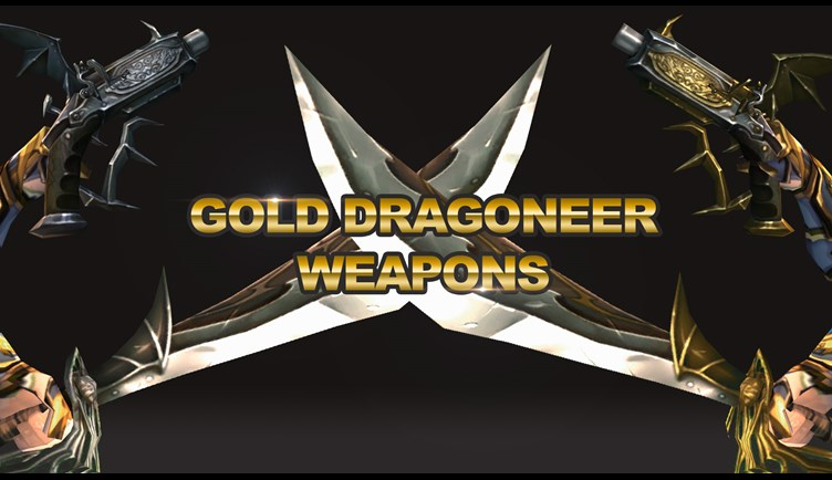 Gold Dragoneer Weapons