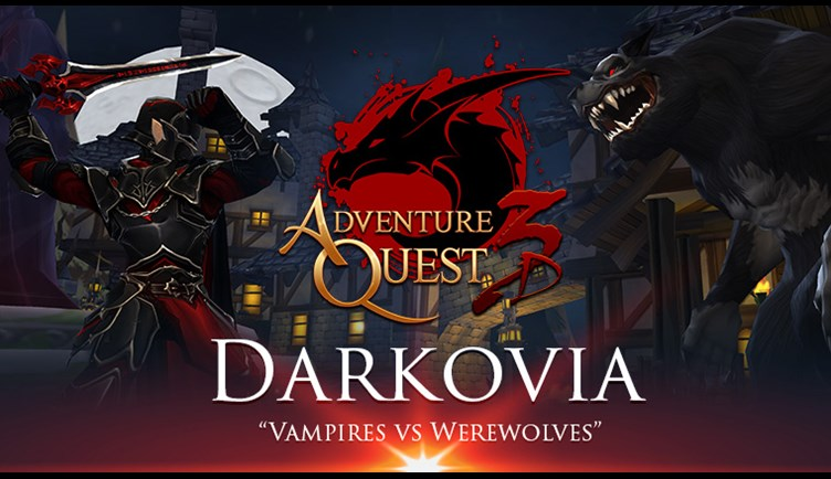 Darkovia : Vampires vs Werewolves