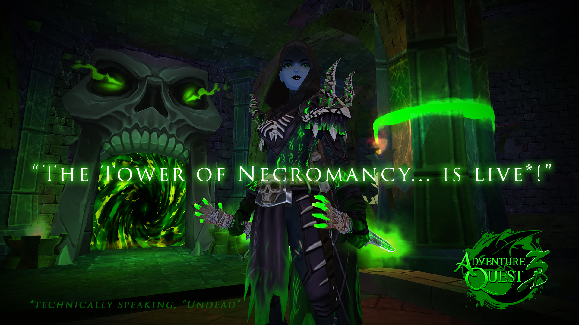 The Tower of NEcromancy is live!