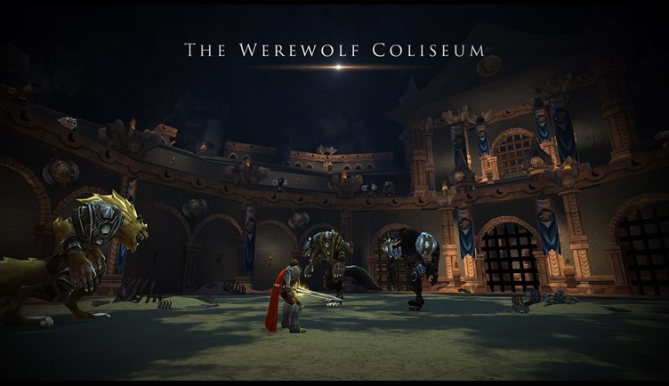 An epic werewolf adventure