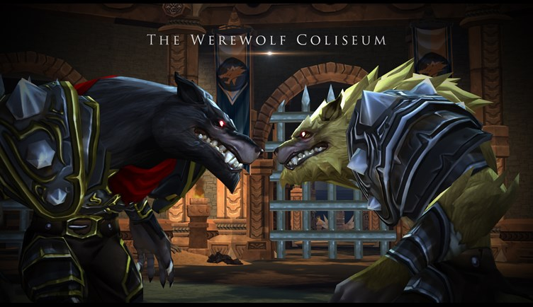Battle in the Coliseum