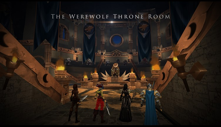 The Werewolf throne Room