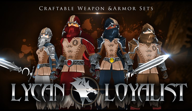 Lycan Loyalist Werewolf Sets