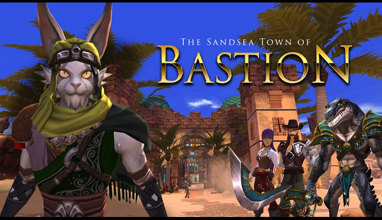 The Sandsea Town of Bastion